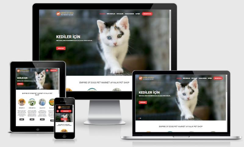 Ayvalık Pet Shop Web Sitesi