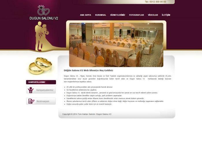 düğün salonları için script
