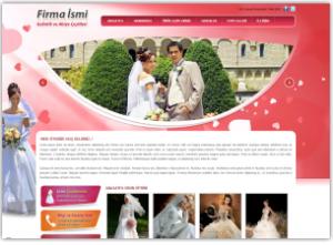 Gelinlik Mağazası Web Sitesi