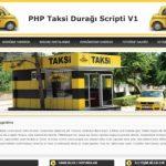 hazır taksi durağı web sitesi