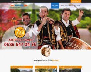 İzmir'de nişan, düğün, kına gecesi, asker uğurlama, sünnet düğünü gibi etkinliklere davul zurna kiralama hizmeti veren İzmir Davul Zurna Ekibi web sitesi