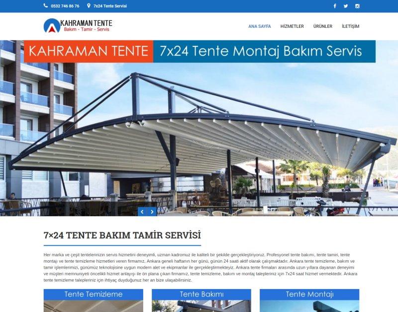 Ankara Tente Servisi