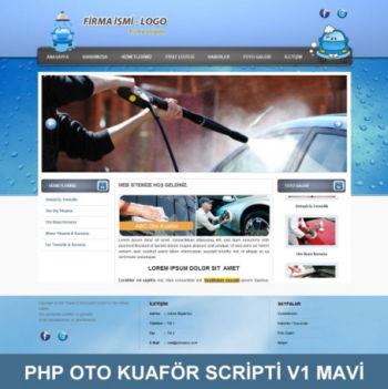 PHP Oto Kuaför Scripti