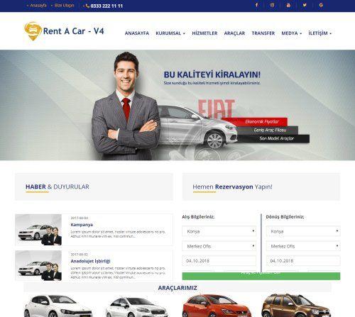 rent a car scripti